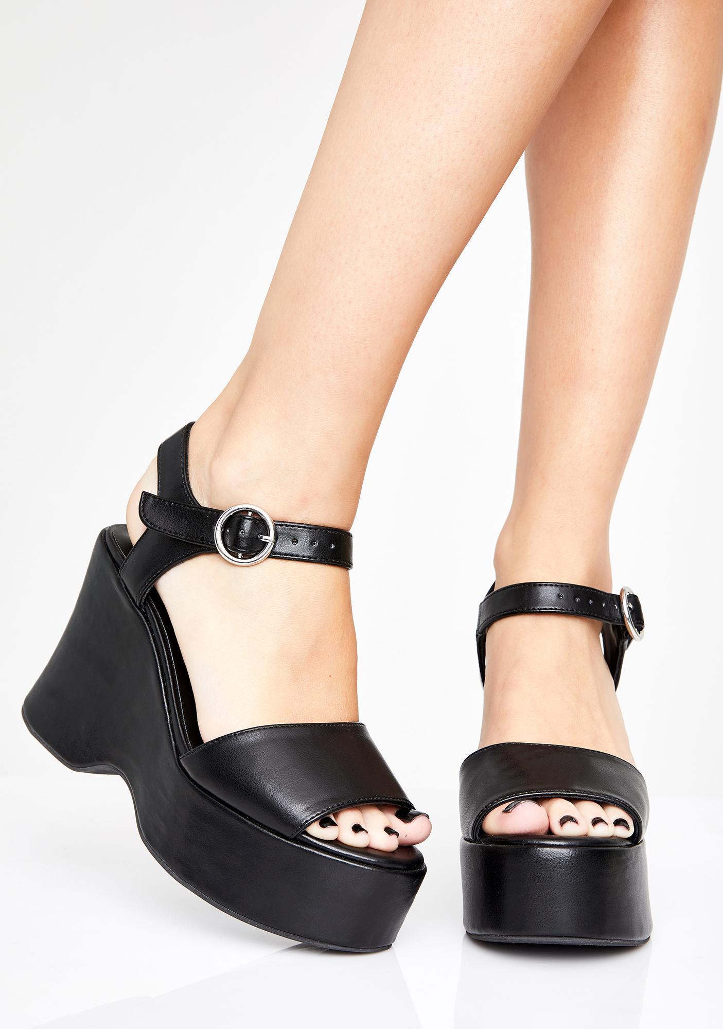Current Mood American Craft Platform Sandals