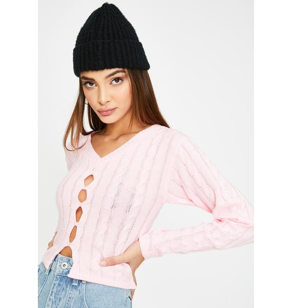 The Ragged Priest Patience Crop Sweater