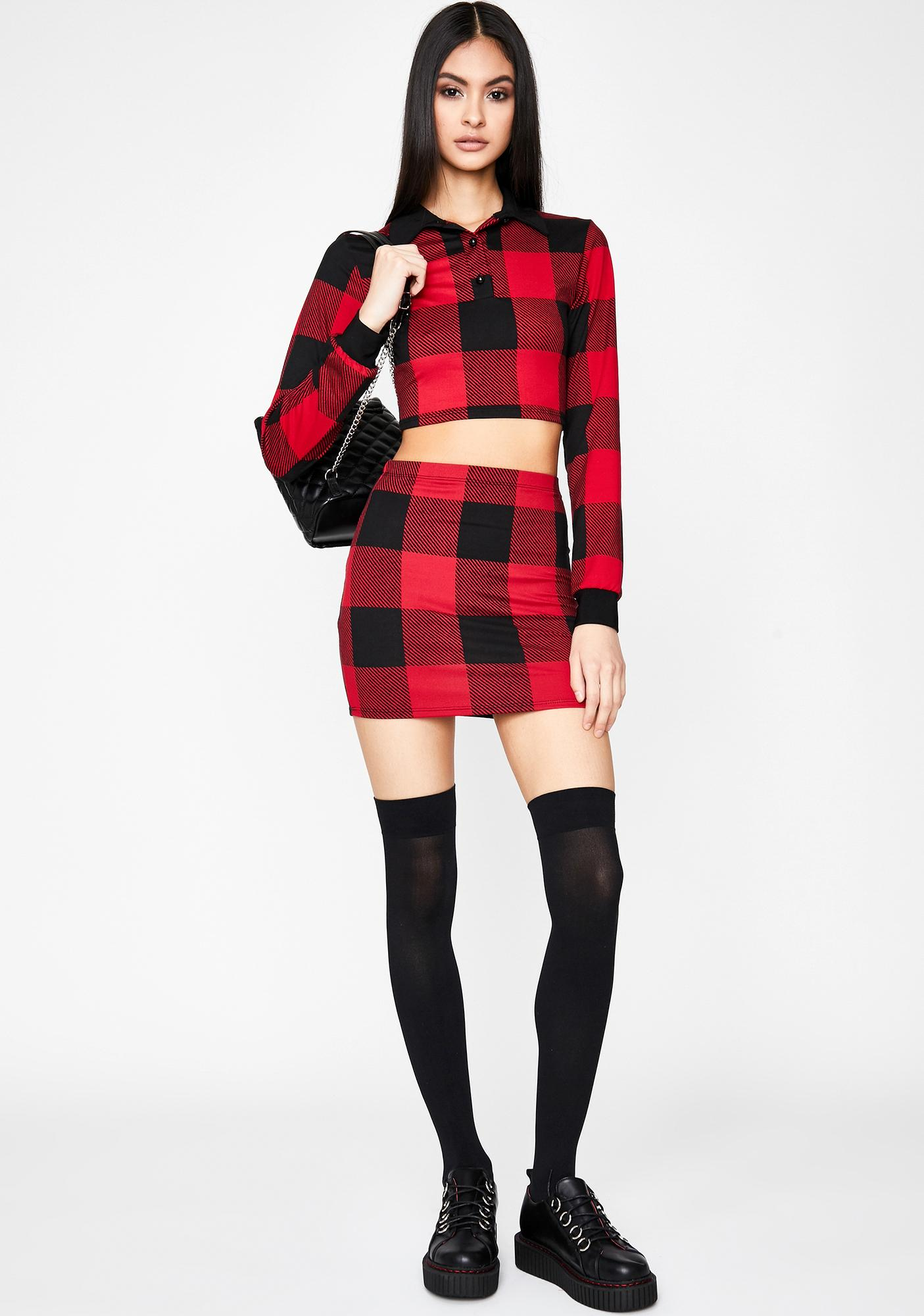 Proper Flex Skirt Set