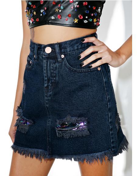 Oceana Denim Skirt