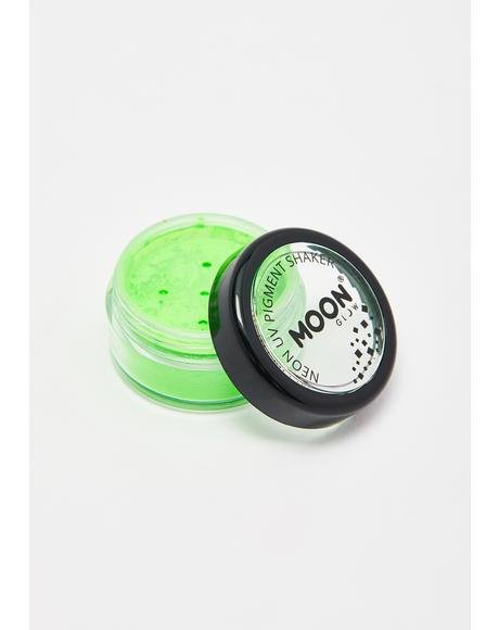 Intense Green UV Neon Pigment Shaker