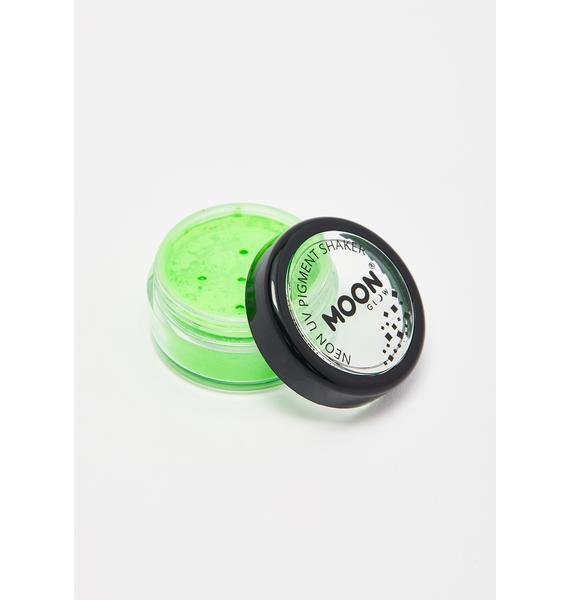 Moon Creations Intense Green UV Neon Pigment Shaker