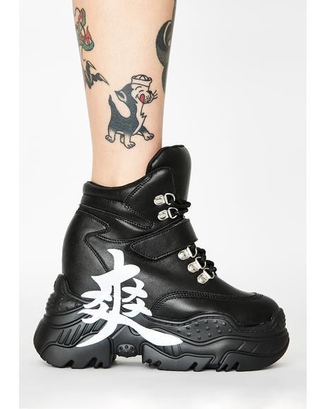 Bad Signal Platform Sneakers