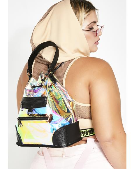 Cash Flow Iridescent Bag