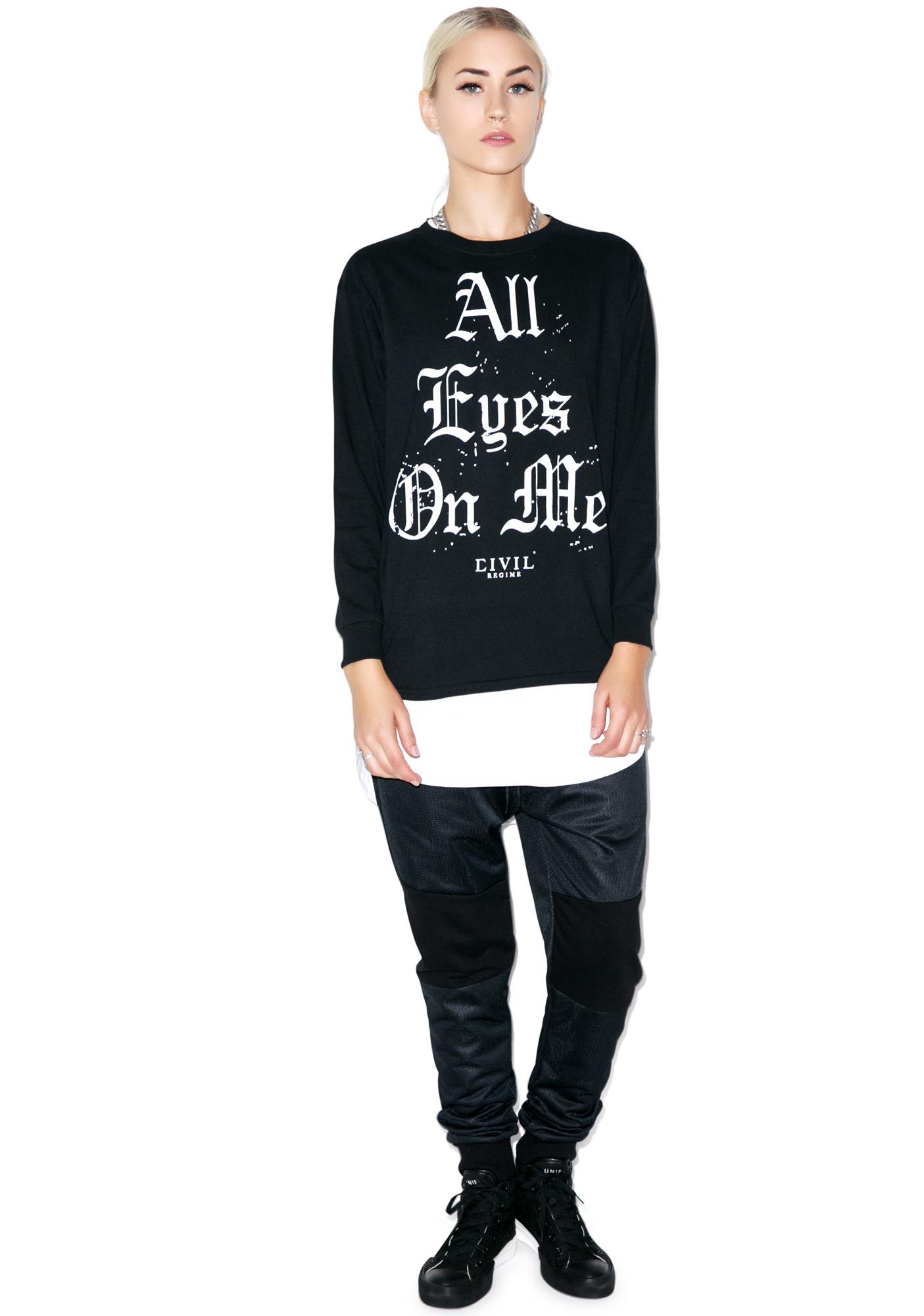 Civil Clothing All Eyes On Me Long Sleeve