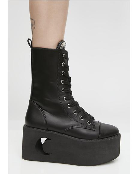 Eternal Eclipse Platform Boots