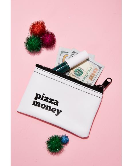 Pizza Money Vinyl Pouch