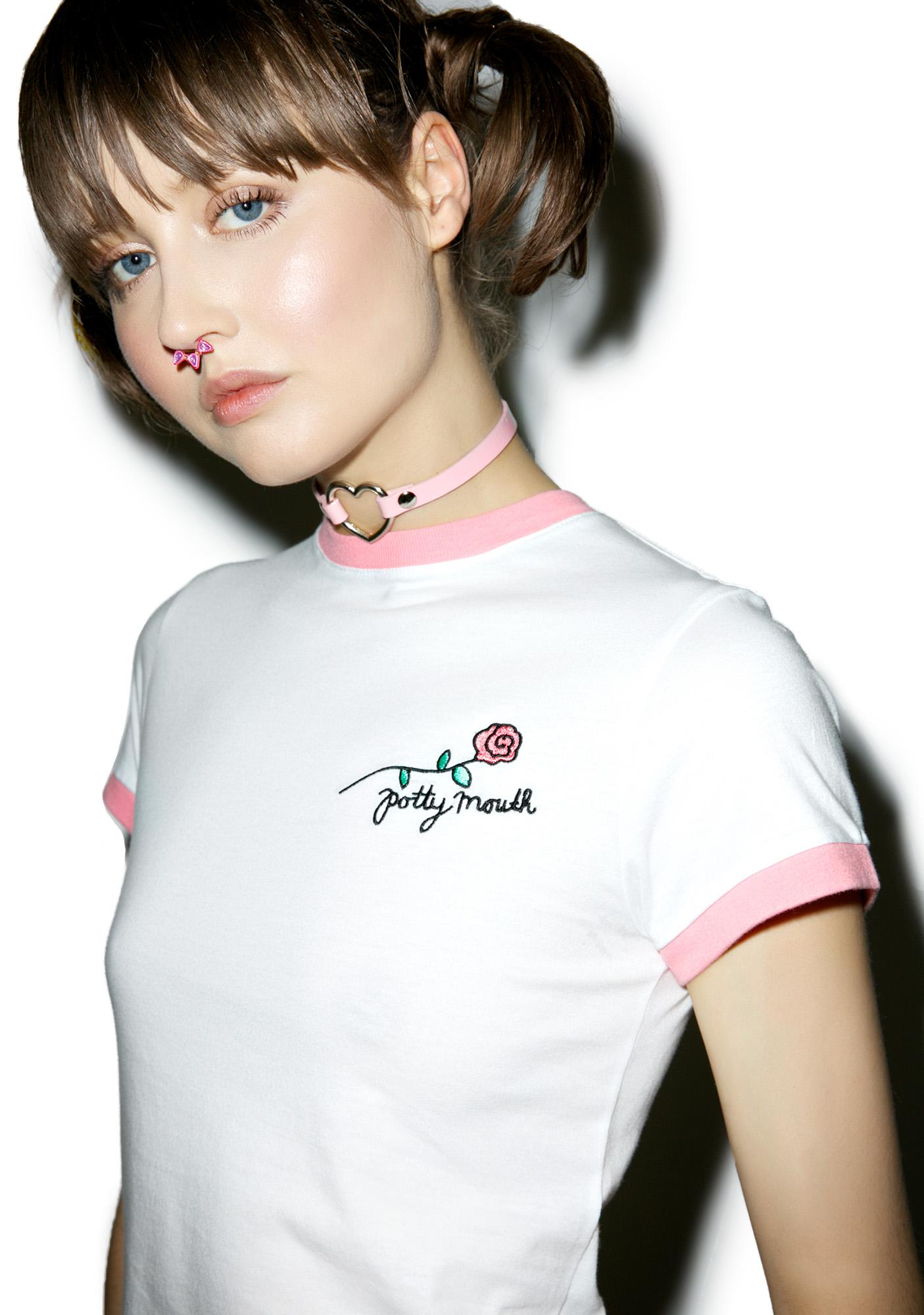 Lazy Oaf Potty Mouth Tee