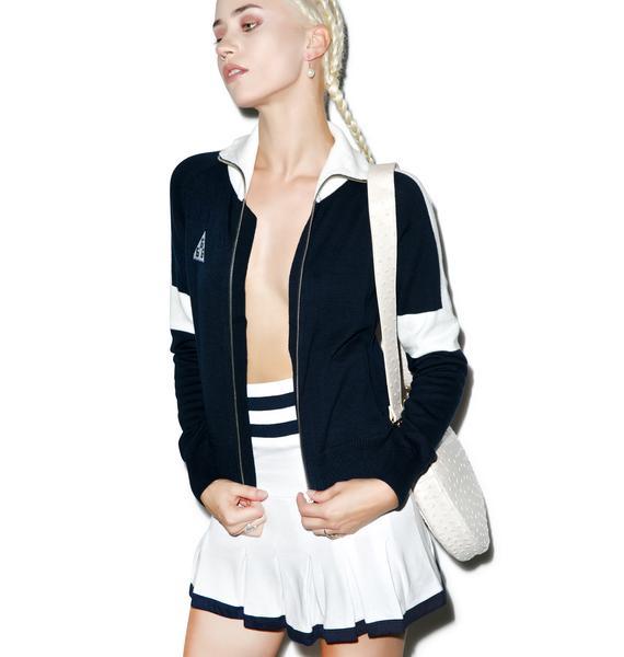 Black Scale Sharon Stoned Skirt