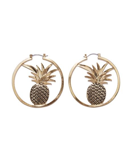 Diced Pineapple Hoops