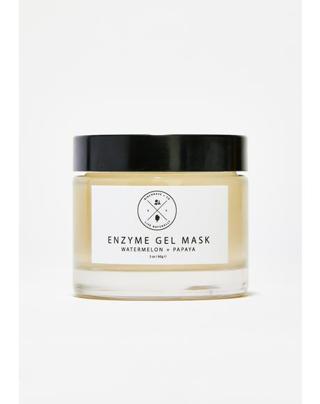Watermelon + Papaya Enzyme Gel Mask