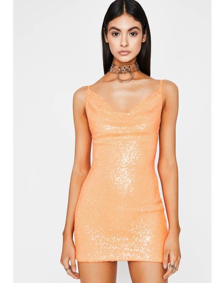 Juicy Spendin' Coins Mini Dress