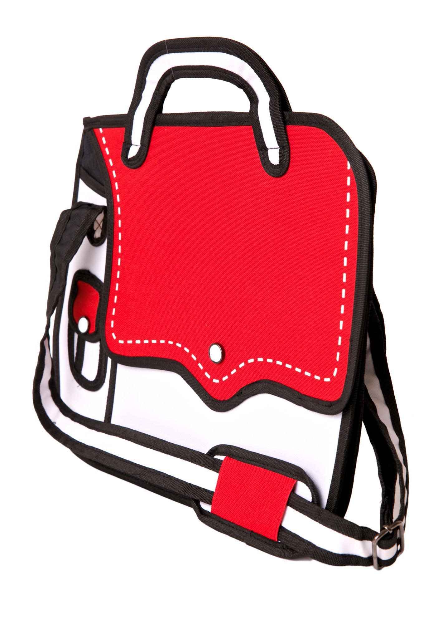 Hip To Be Square Cartoon Bag