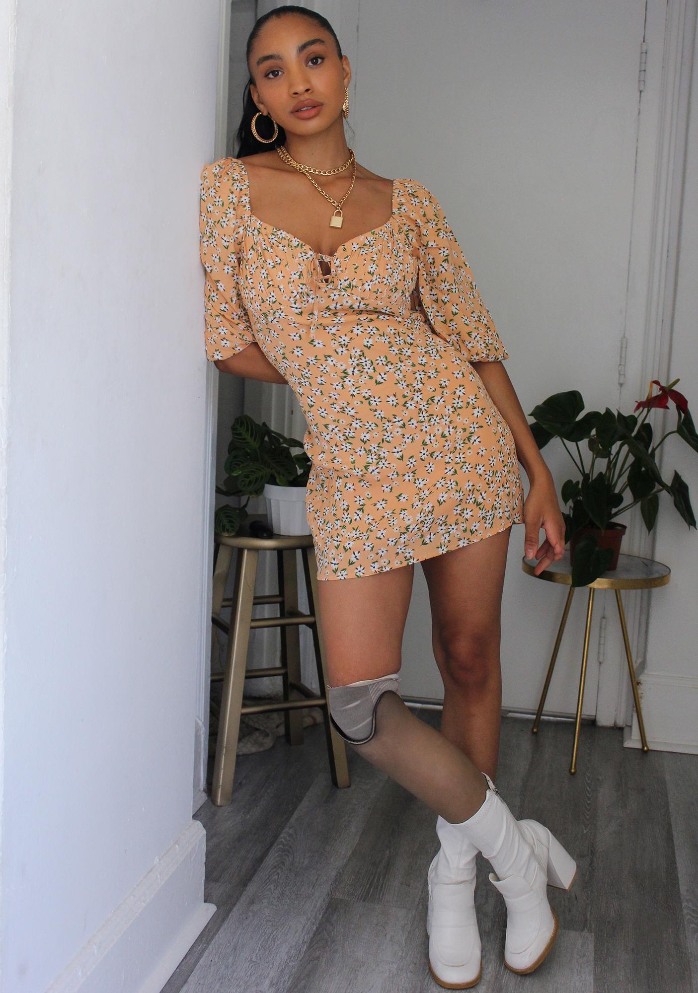 New To Town Mini Dress