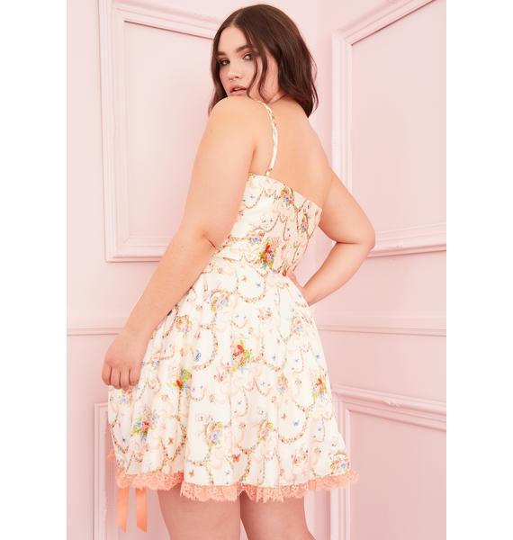 Sugar Thrillz Lux Lush Opulence Corset Dress