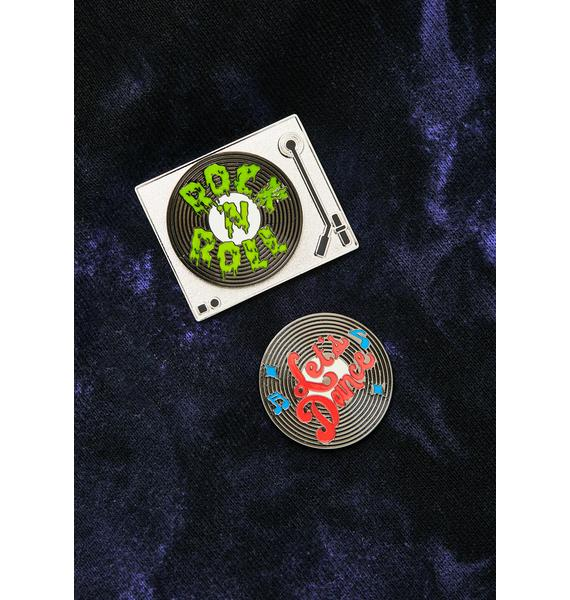 MALA Record Pin Pack