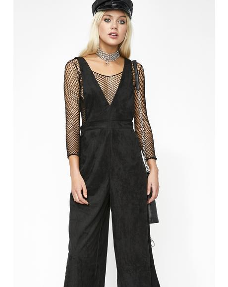 High Vibin' Suspender Jumpsuit