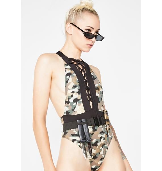 Tuff Chick Camo Bodysuit