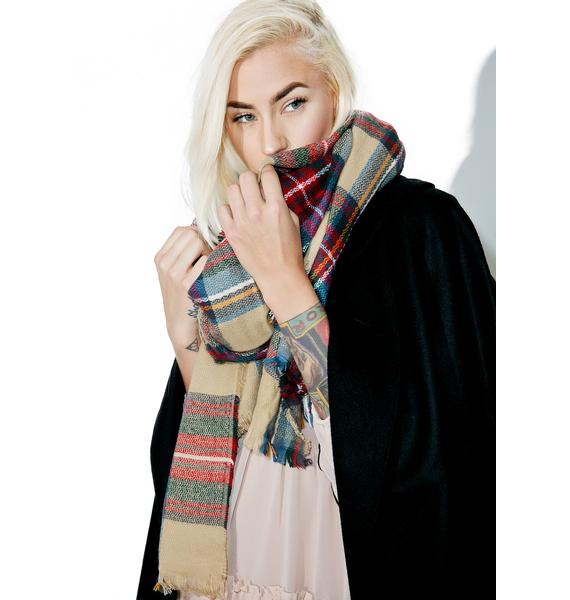 Morris Plaid Scarf