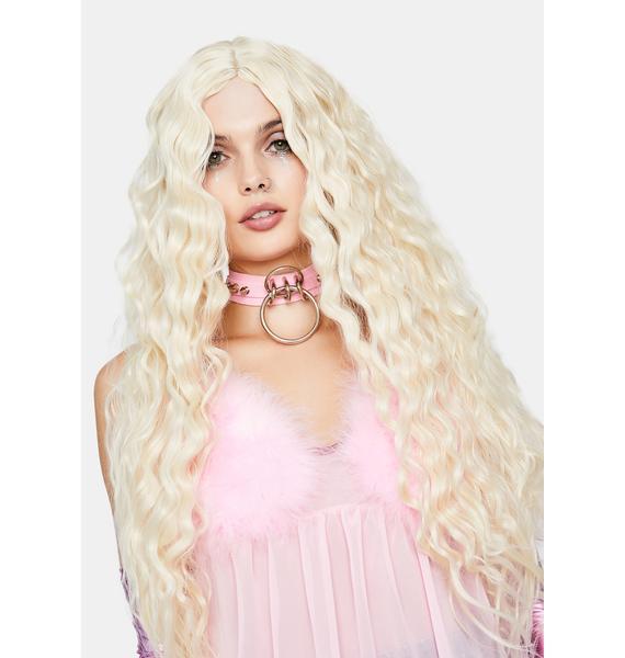 Mermade You Look Blonde Wig