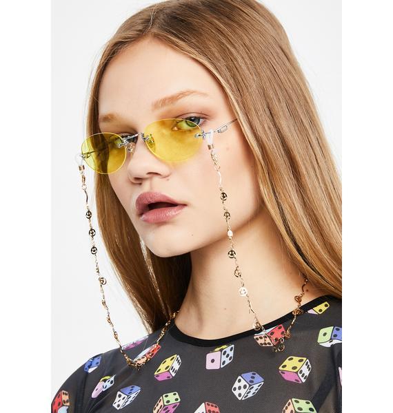 Contagious Smile Sunglasses Chain