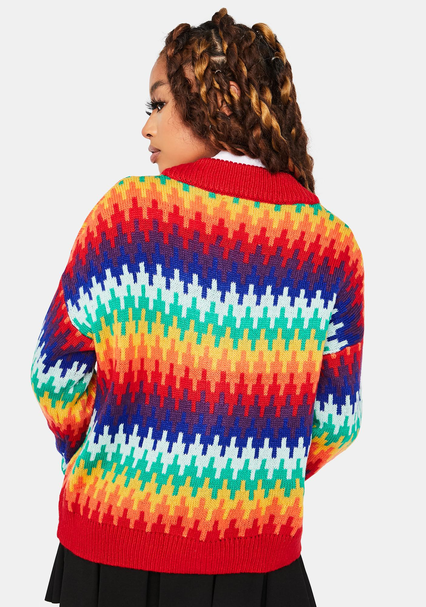 Forgotten Rainbow Knit Cardigans