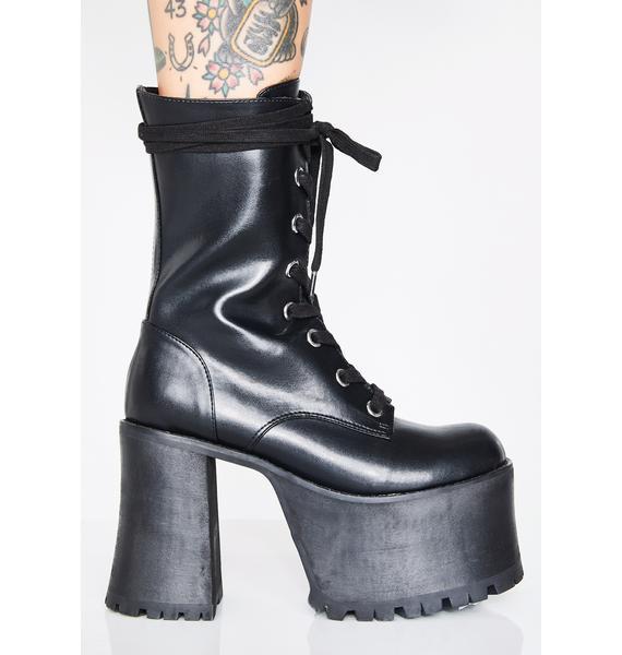 Current Mood Takin' Names Platform Boots