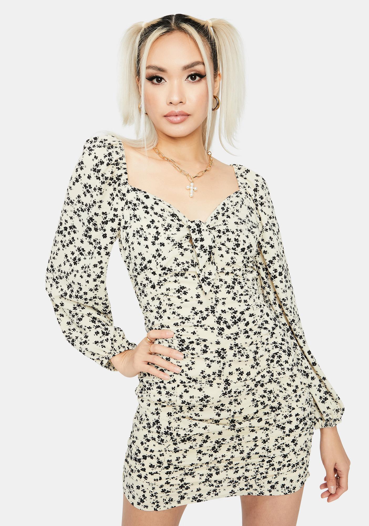 Love Or Leave Mini Dress