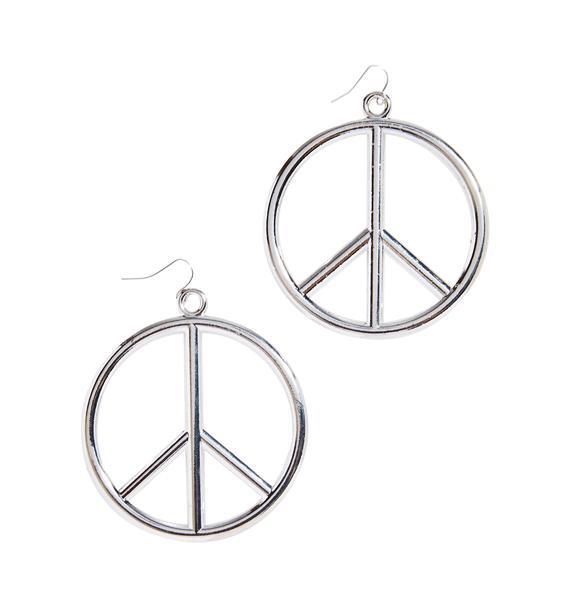 Peace SignEarrings