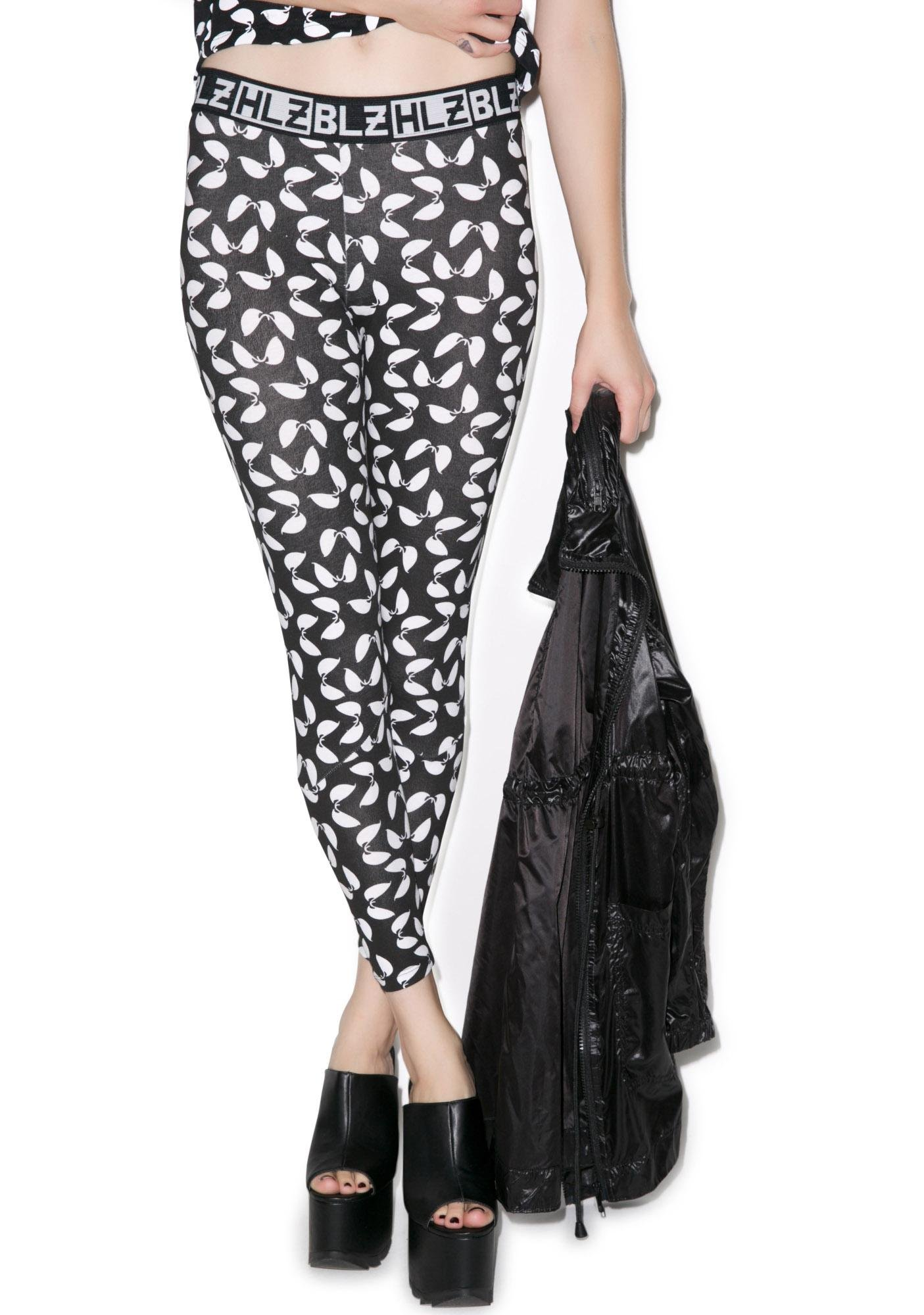HLZBLZ Martian Eyes Leggings