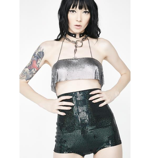 Kiki Riki Night Movez Sequin Shorts