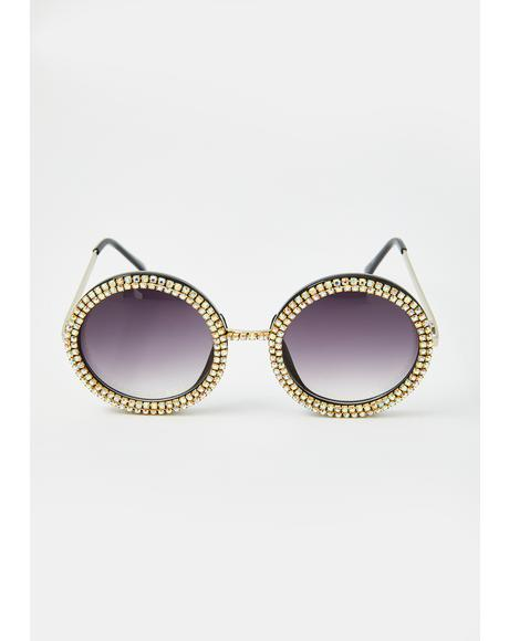 Seeing Daydreams Circle Sunglasses