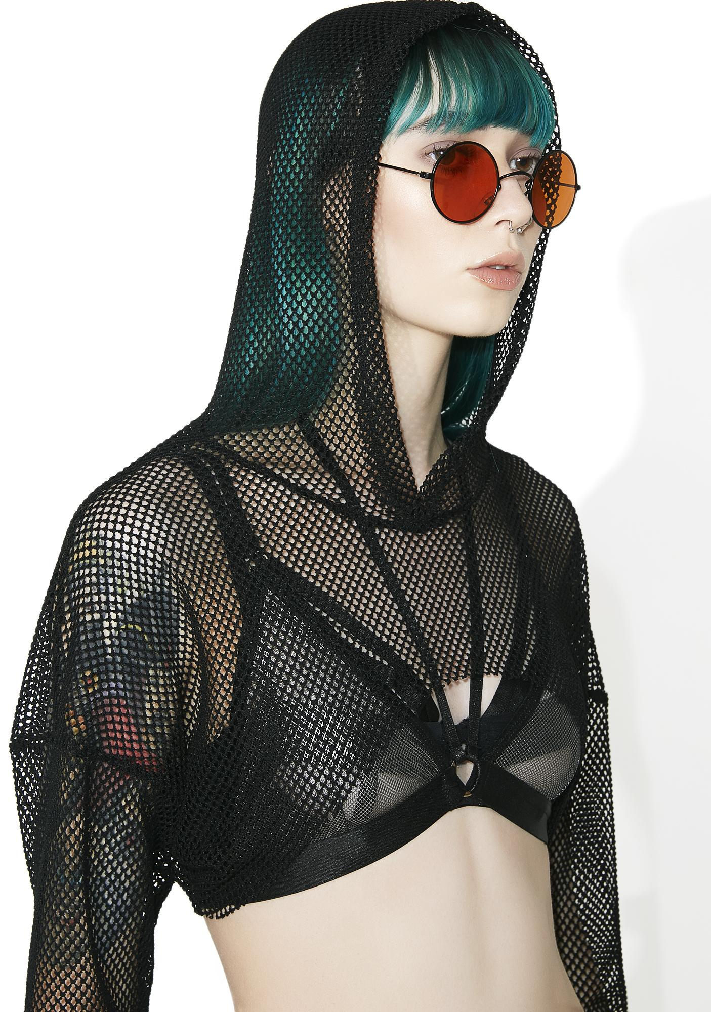 Show Out Mesh Crop Top