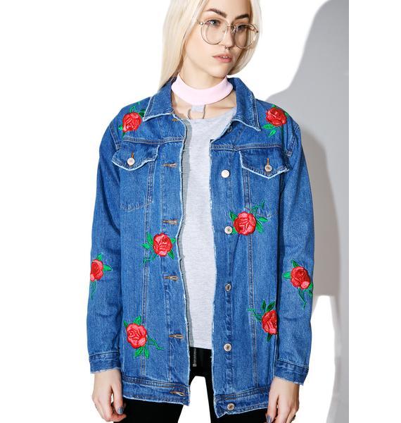 Una Rosa Denim Jacket
