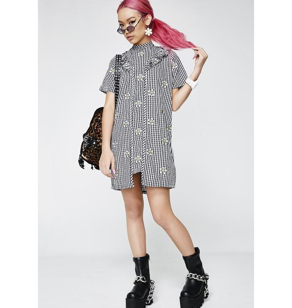 Lazy Oaf Daisy And Confused Dress