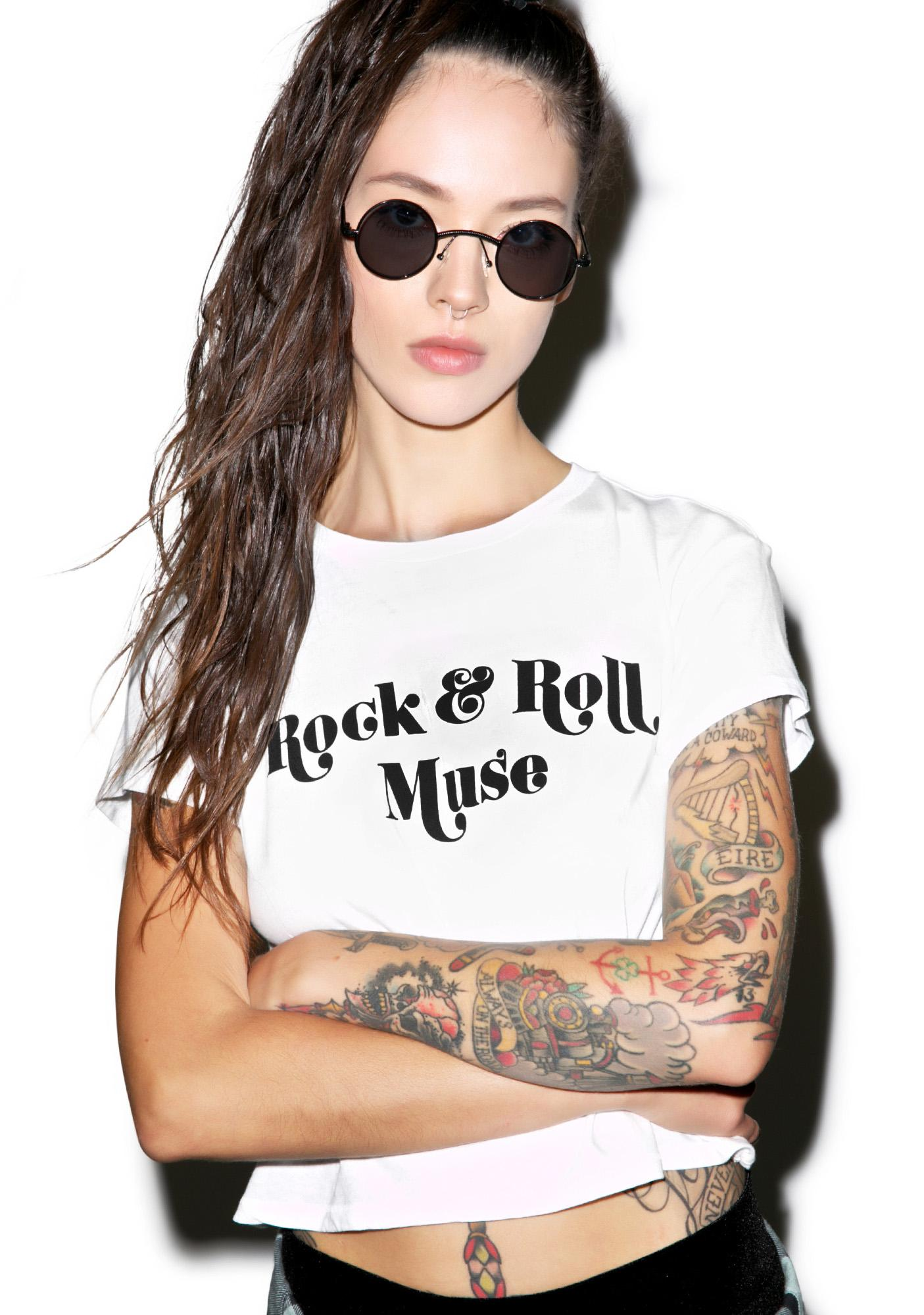 Amuse Society Rock & Roll Tee