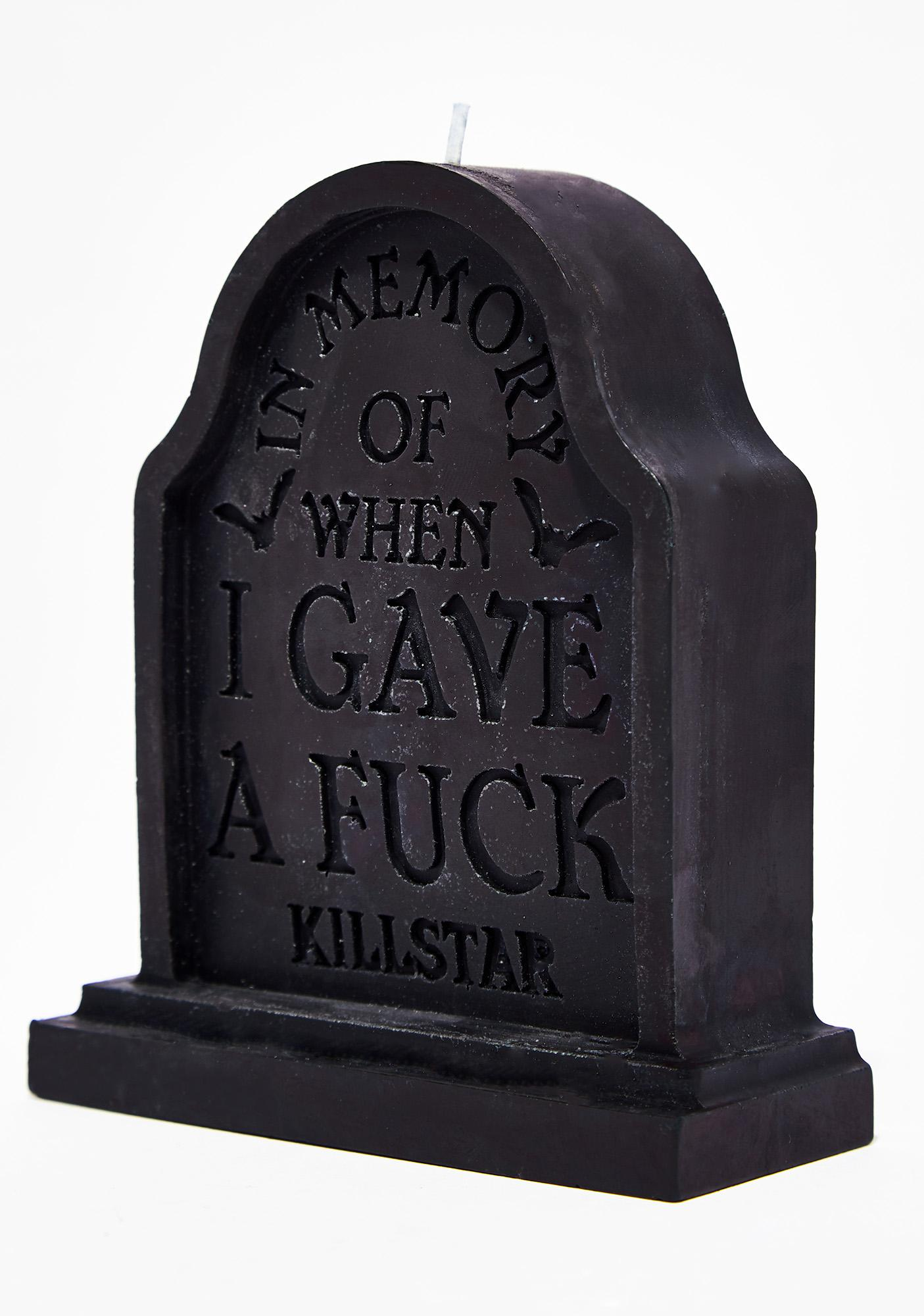 Killstar In Memory Candle