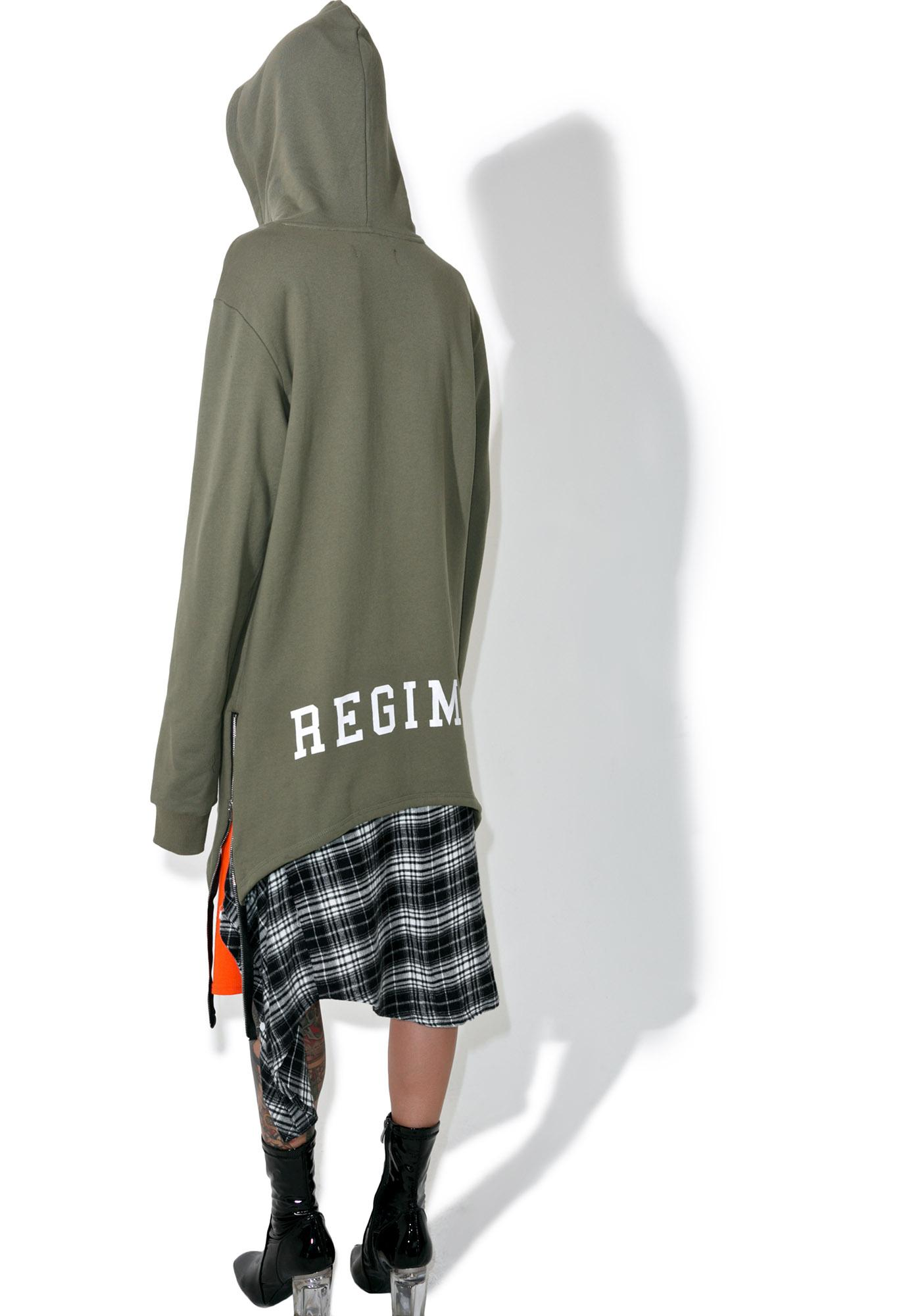 Civil Clothing Extended Zip Reverse Scallob Brawler