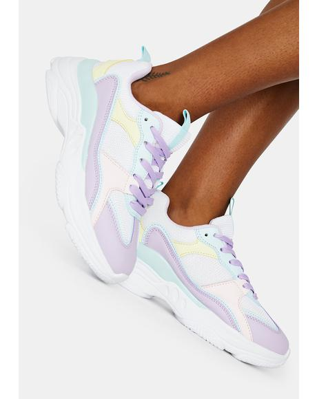 Jam Candy Factory Pastel Chunky Sneakers