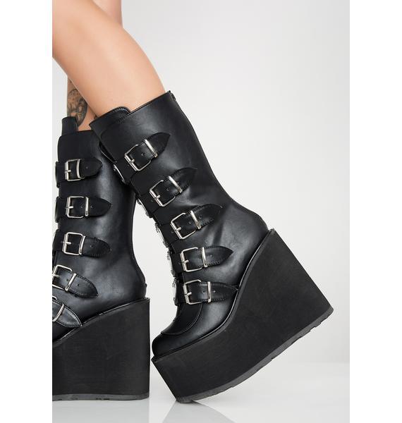 Demonia Lovesick Trinity Boots