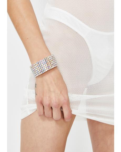 Verified Stunna Rhinestone Bracelet