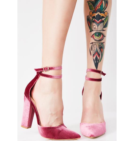 Get Yourz Ankle Strap Heels