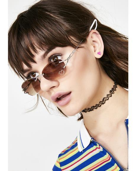 Coco She's A Star Frameless Sunglasses