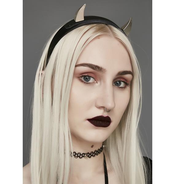 Livin' Evil Horn Headband