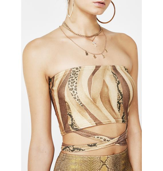 American Deadstock Slither Bandage Tube Top