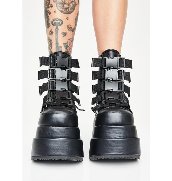 Demonia Batty Behavior Platform Boots