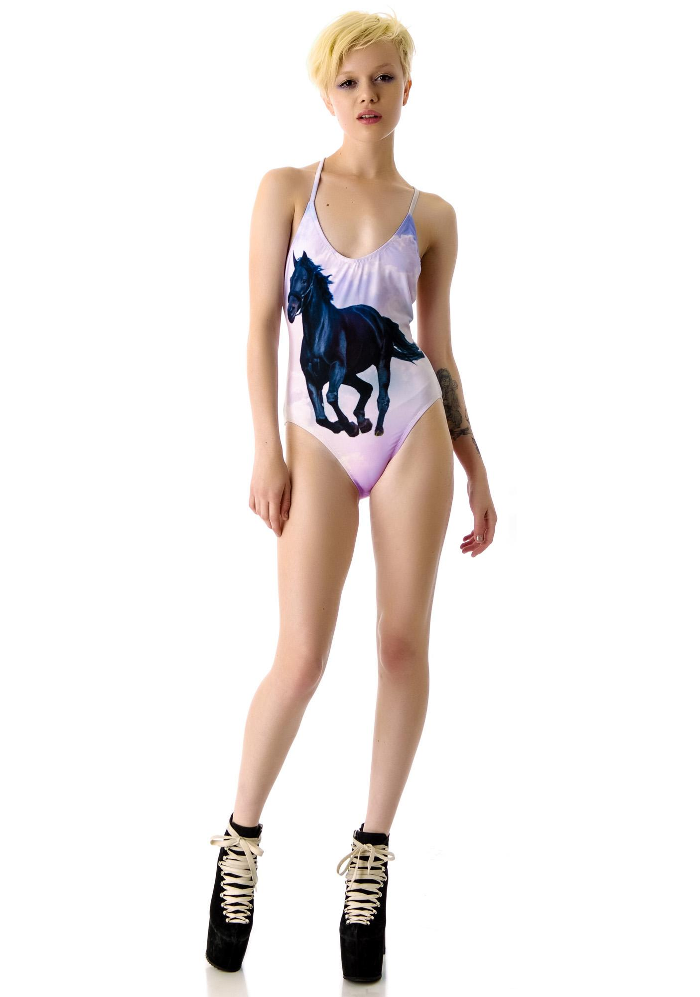Wildfox Couture Stormy Classic One Piece