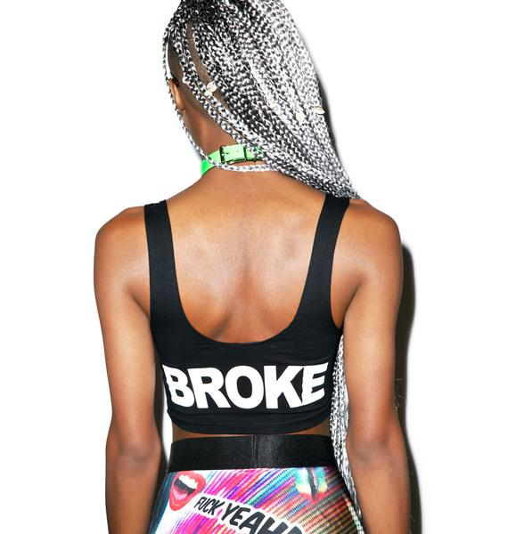 24HRS Flat Broke Double Sided Graphic Top