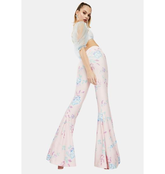 Selkie The Dreamhouse Floral Bell Bottoms