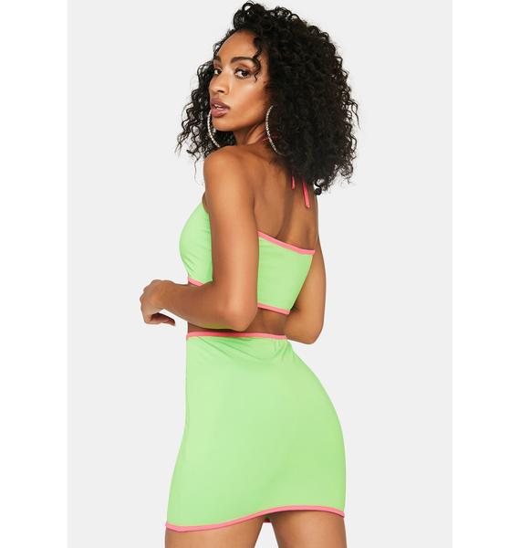 You've Got Game Mini Skirt Set